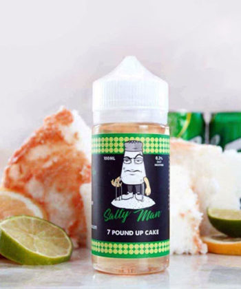 7 Pound Up Cake – Salty Man Vapor 30mL E-Liquid