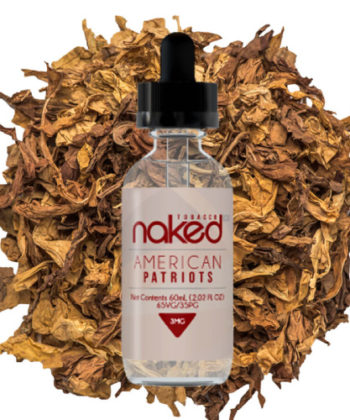 American Patriot Tobacco by Naked 100 60ml