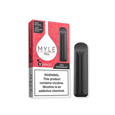 MYLE Mini Iced Watermelon Disposable Device