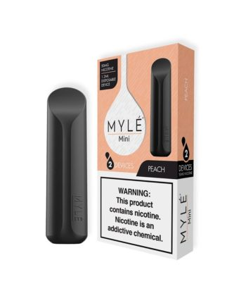 MYLE Mini Peach Disposable Device
