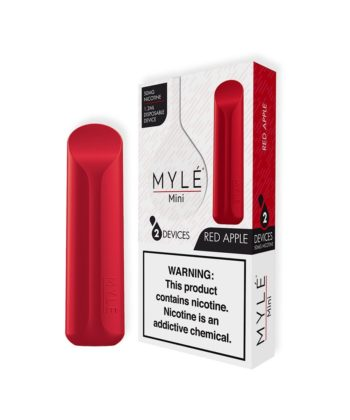 MYLE Mini Red Apple Disposable Device