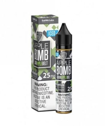 Apple Bomb Iced by VGOD Salt Nic
