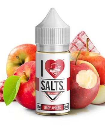 Juicy Apples I Love Salts by Mad Hatter Juice