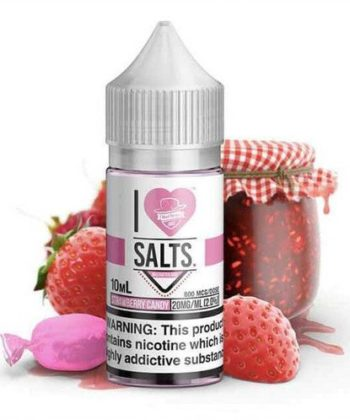 Strawberry Candy I Love Salts by Mad Hatter Juice