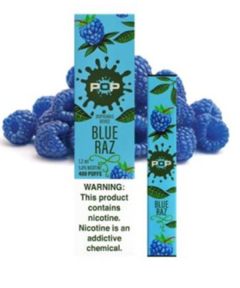 Blue Razz Pop Disposable Vape