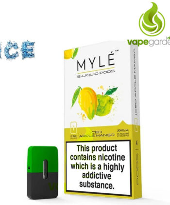 Iced Apple Mango V4 Pods by MYLE Vapor | SaltNic