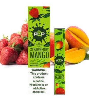 Strawberry Mango Pop Disposable Vape