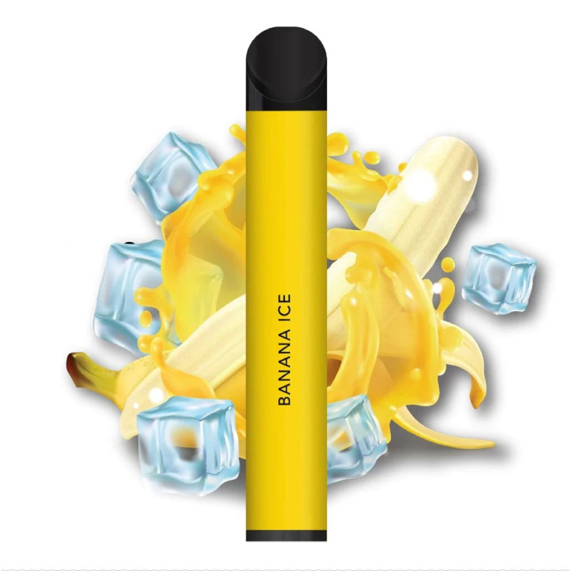 PUFF PLUS Banana Ice Disposable up to 800 puffs 5