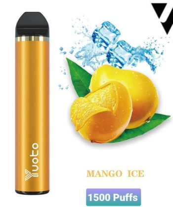 yuoto disposable mango ice 1500 puffs